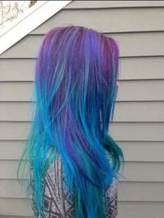 Like these colors in her hair.