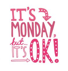 Monday motivation.