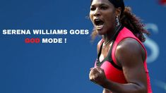 When Serena Williams Goes God Mode! Victoria Azarenka vs Serena Williams... Serena Williams Tennis, Tennis Quotes, Manny Pacquiao, Eva Marie, Rafael Nadal, Maria Sharapova, Roger Federer, Winter Olympics, Tennis Players