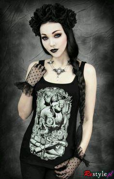 Nasty Glam ♥ Chic Retro, Vintage, Goth, Punk ♥ Ewelina .. I want this shirt!
