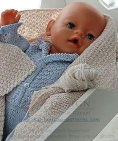 184 Beste Afbeeldingen Van Poppekleertjes Breien Baby Dolls