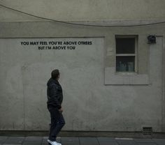 Street Art Dripping with Sarcasm