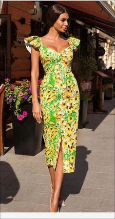 summer fashion 2019 to rock your winter style 42 African Dresses For Women, African Print Dresses, African Print Fashion, African Attire, African Fashion Dresses, Africa Fashion, Ankara Fashion, African Prints, African Fabric