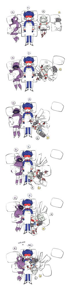 Everyone loves Soundwave during the summer. Cause his body is cool.