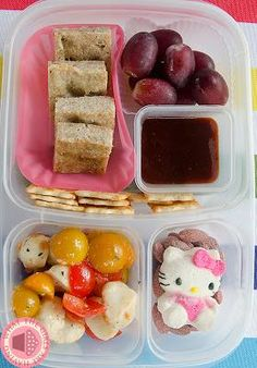 Homemade chicken nuggets packed for lunch with #EasyLunchboxes