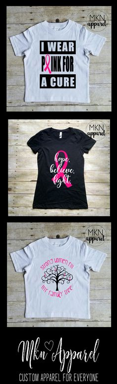 e2d2d5f6d73 Custom Handmade T-shirts by LeathemCreationCo. Breast Cancer ...