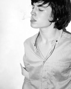Ezra Miller. He's really weird, but what can I say? I find him attractive with his hair a little shorter.