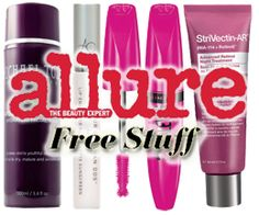 HOT FREE Beauty Products From Allure 12/3-12/6 on http://hunt4freebies.com