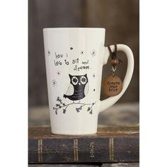Owl Boulder Token Mug #naturalife #pinittowinit #pinhappy
