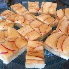 Un postre de #Manzana para terminar tu tarde.