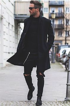 Black Is the sexy, Black outfit of the day