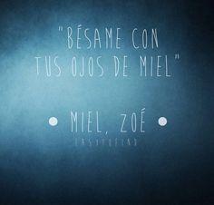 Zoé  zoe - Frases de canciones. Rimas