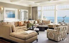 Contemporary Chicago Lakefront Property with French Provincial Exterior   LuxeWorthy - Design Insight from the Editors of Luxe Interiors + Design