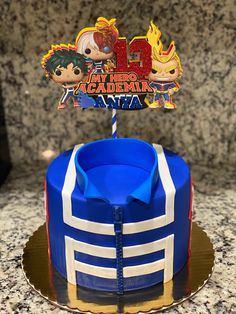 Cute Birthday Cakes, 14th Birthday, Birthday Party Themes, Birthday Ideas, Bolo Naruto, Anime Cake, Anime Inspired Outfits, Cool Cake Designs, Novelty Cakes