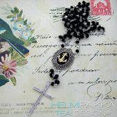 Usko-toivo-rakkaus rukousnauha 40€ #rukousnauha #rosario #usko #rakkaus #risti #kristinusko #helmipaikka