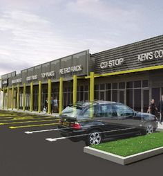 contemporary strip mall | Strip Mall Maestro | Architect Magazine