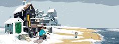 De kleine walvis in de winter Fair Grounds, Fun, Travel, Viajes, Traveling, Trips, Tourism, Funny, Hilarious