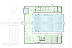 Froeyland Orstad Church,Floor Plan