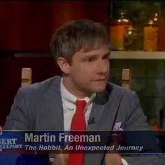 How Martin Freeman Became Immortal Through Legos