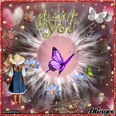 Thank you dear friends Thank You Messages, Friend Pictures, Dear Friend, Good Morning, Butterflies, Gifs, Great Gifts, Daughter, Scrapbook