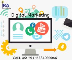 Digital marketing is an umbrella term in which we use every kind of platform all together like online based digital technologies such as desktop computers, mobile phones and other digital media and platforms to promote products and services . Digital Marketing Strategy, Marketing Tools, Email Marketing, Affiliate Marketing, Social Media Marketing, Youtube Advertising, Social Media Management Tools