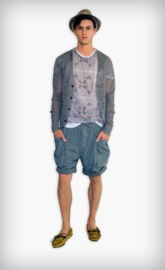 D&G Men's Spring/Summer 2012 Looks: Sophisticated Patterns With Sicilian Relaxing Lifestyle Young Looks