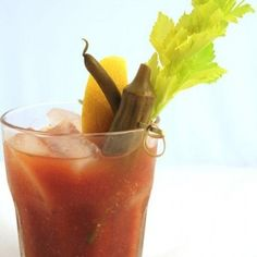 Do you serve Bloody Marys for your Easter brunch?If so, give this Cajun version a try - it has a kick!
