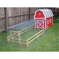 """Flying C Poultry Barns - love the little """"fence"""""""