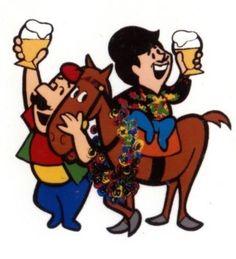 Cerveza Corona; Gallego y Cantalicio en el Hipódromo