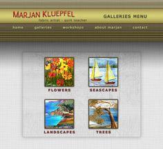 Marjan Kluepfel из Калиформии, восхитительная игра цветом, ткани батиковые.
