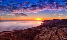 Baja Sunset by Gustavo Vargas on 500px - Baja California, Mexico