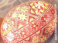 I remember all the detail on this egg when I made it. Lot's of little lines and swirls.