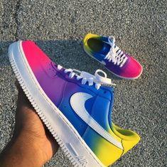 b6cfe73eb68 Nike Shoes Air Force, Nike Air, Lit Shoes, Custom Shoes, Custom Painted