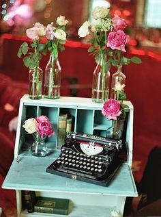 Got the desk. Need the typewriter