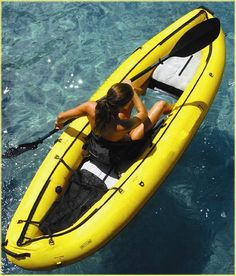 1 Person Inflatable Kayak Picture