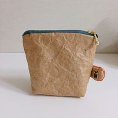 Waterproof paper purse. Handmade.