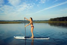 Paddle Diva Gina Bradley started stand-up paddleboarding to get back in shape after having a baby. Hear why she recommends SUP for other women: http://www.youtube.com/watch?v=8O0A2igF9-o