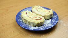 Nadýchaná piškotová roláda Cheesecake, Food, Cheesecakes, Essen, Meals, Yemek, Cherry Cheesecake Shooters, Eten