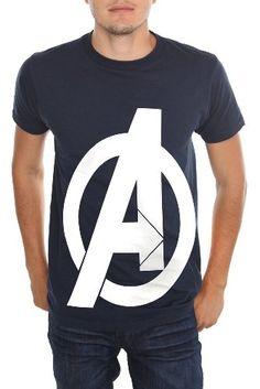 Marvel Universe The Avengers Logo T-Shirt: Amazon.com: Clothing