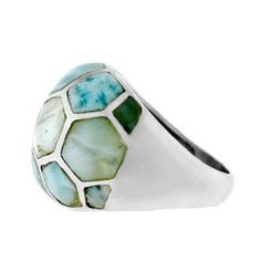 @Overstock - Larimar hexagon ringSterling silver jewelry Click here for ring sizing guidehttp://www.overstock.com/Jewelry-Watches/Sterling-Silver-Larimar-Hexagon-Ring/5884116/product.html?CID=214117 $60.99