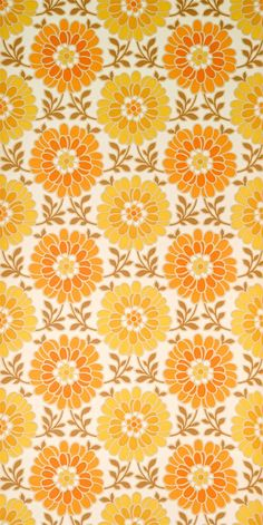 wallpaper patterns wallpaper - running meter / vintage flower wallpaper from 60s Wallpaper, Blue Flower Wallpaper, Vintage Flowers Wallpaper, Vintage Wallpaper Patterns, Beautiful Flowers Wallpapers, Retro Flowers, Pattern Wallpaper, Vintage Patterns, Vintage Pattern Design