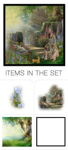 """""""Walk through the garden"""" by jmn312 ❤ liked on Polyvore featuring art"""
