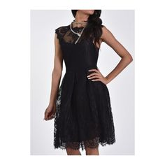 Rotita Vintage Black Short Lace Prom Dress Homecoming Dress (31 AUD) ❤ liked on Polyvore featuring dresses, black, short sleeve cocktail dresses, vintage prom dresses, long-sleeve mini dress, short-sleeve dresses and lace cocktail dress