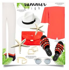 """Summer Brights"" by lidia-solymosi ❤ liked on Polyvore featuring River Island, Mansur Gavriel, Proenza Schouler, Christian Dior and summerbrights"