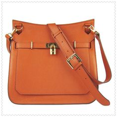 8a2c910cd5c Bag Love - Hermes Jypsiere Shoulder Bag Orange Gold Hermes Handbags