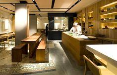 Restaurante Japonés de diseño en el centro de Barcelona. Comida japonesa rápida y económica.