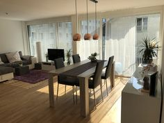 Moderne und zentral gelegene 2.5 Zimmer Wohnung mit Balkon und Zugang zur Dachterrasse in Luzern befristet zu vermieten.😍☀️🌇