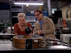 The Big Bang Theory ADVICE Line- Sexy Scientist