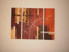 YAY' peintures abstraites Deco, Art Deco, Contemporary, Abstract Paintings, Art Paintings, Decoration, Deko, Decor, Dekoration