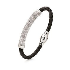 This silver plated bangle from Dazzling collection is the definition of can't-go-wrong accessory